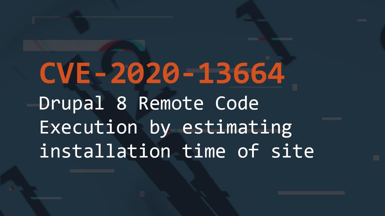 CVE-2020-13664 | Pentest