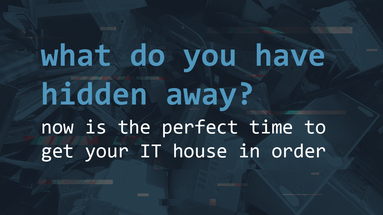Getting your IT house in order | Pentest