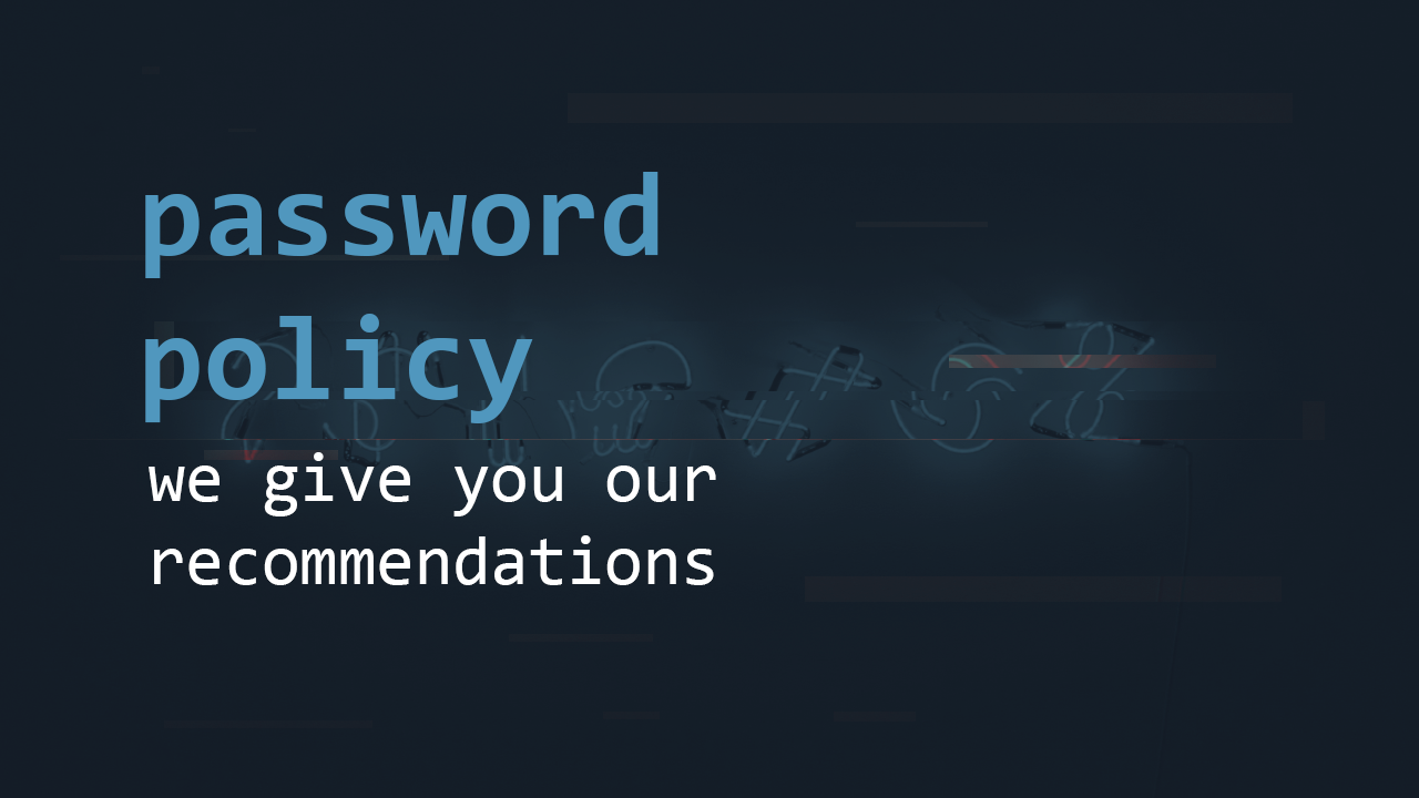 Password policy | Pentest