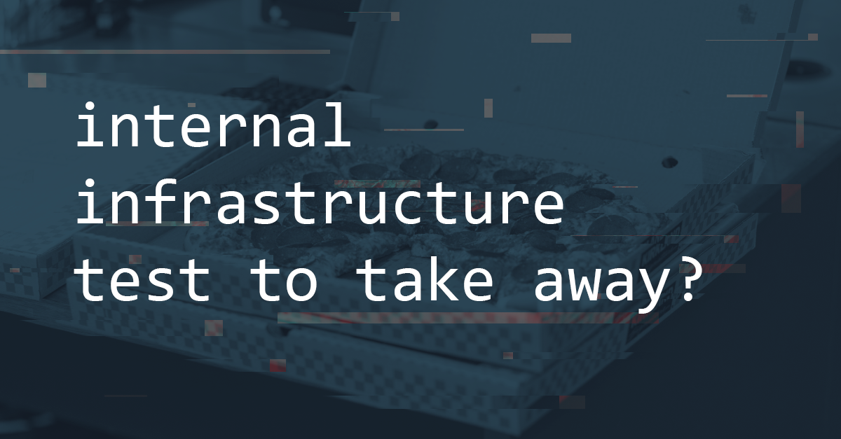 Internal Infrastructure Take Away | Pentest