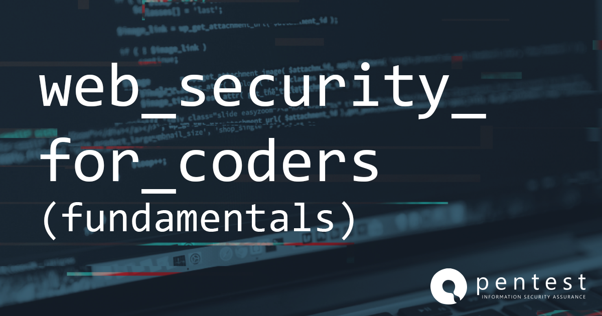 web security for coders